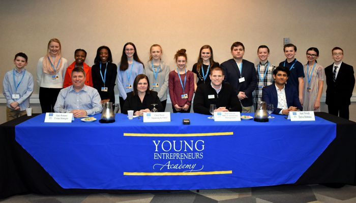 The 4th annual Young Entrepreneurs Academy CEO Round Table hosted by the Peabody Area Chamber of Commerce (PACC) on Wednesday night was the first of three signature events for the students of the YEA